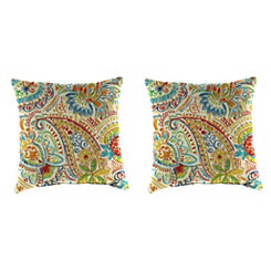 Gilford Festival 18 in. Outdoor Pillows, Set of 2