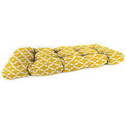 Fulton Citrus Outdoor Settee Cushion, 46 in.