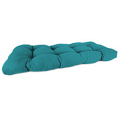 Davinci Lagoon Outdoor Settee Cushion, 46 in.