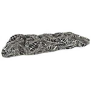 Malkus Ebony Outdoor Settee Cushion, 46 in.
