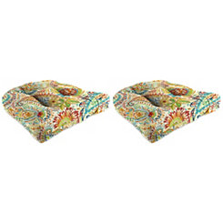 Gilford Festival 19 in. Outdoor Cushions, Set of 2