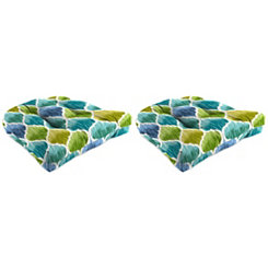 Denali Caribbean 19 in. Outdoor Cushions, Set of 2