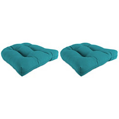 Davinci Lagoon 19 in. Outdoor Cushions, Set of 2