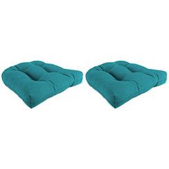 Davinci Lagoon 19 in. Outdoor Cushions, Set of 2