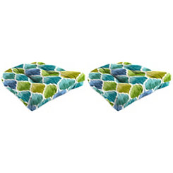 Denali Caribbean 18 in. Outdoor Cushions, Set of 2