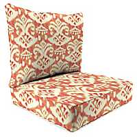 Rivoli Coral 2-pc. Outdoor Chair Cushion Set