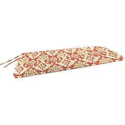 Rivoli Coral Outdoor Settee Cushion