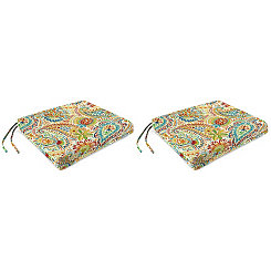 Gilford Festival Outdoor Chair Pads, Set of 2