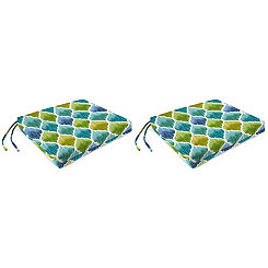 Denali Caribbean Outdoor Chair Pads, Set of 2