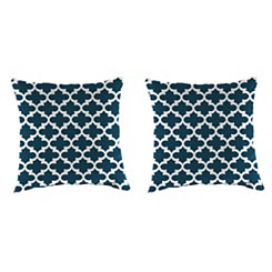 Fulton Oxford Outdoor Pillows, Set of 2