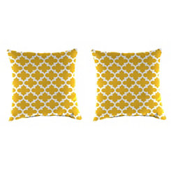 Fulton Citrus Outdoor Pillows, Set of 2