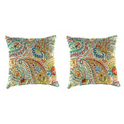 Gilford Festival Outdoor Pillows, Set of 2