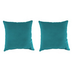 Davinci Lagoon Outdoor Pillows, Set of 2