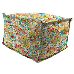 Gilford Festival Fringe Square Outdoor Pouf