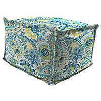 Gilford Baltic Square Outdoor Pouf