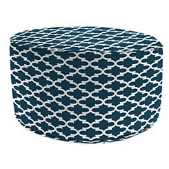 Fulton Oxford Round Outdoor Pouf
