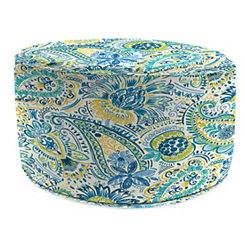 Gilford Baltic Round Outdoor Pouf