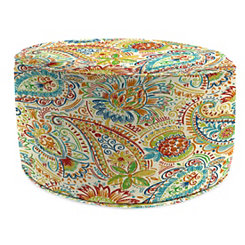 Gilford Festival Round Outdoor Pouf