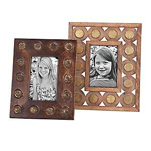 Frona Wooden Picture Frames, Set of 2