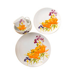 Tiger Lily 16-pc. Dinnerware Set