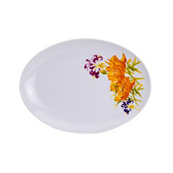 Tiger Lily Oval Platter