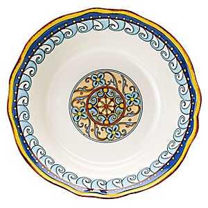 Duomo Blue Medallion Pasta Bowl