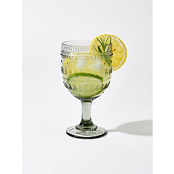 Fez Gray Wine Glasses, Set of 4