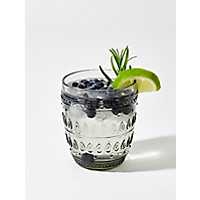Fez Gray Old Fashioned Glasses, Set of 4