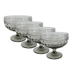 Fez Gray Compote Bowls, Set of 4