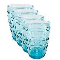 Fez Turquoise Highball Glasses, Set of 4