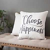 Choose Happiness Pillow