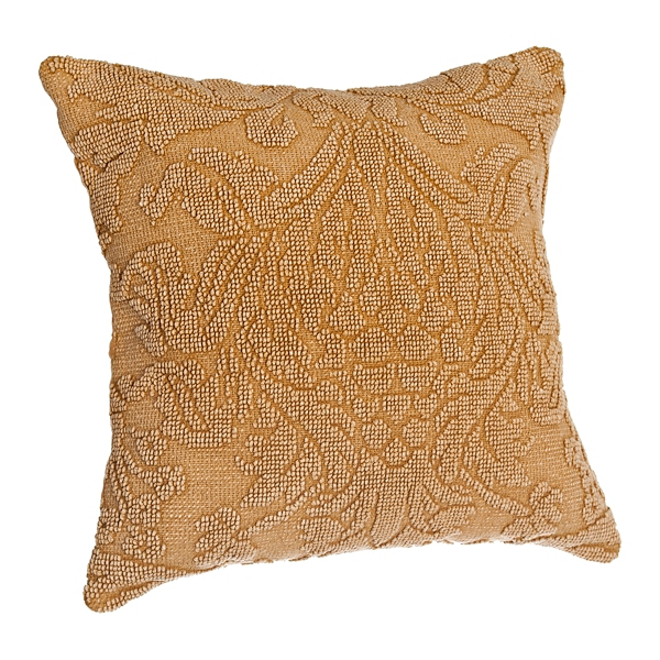 Gold Medallion Pillow