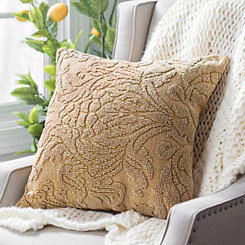 Gold Medallion Pillow