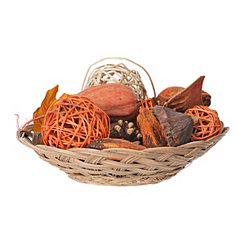 Harvest Pumpkin Potpourri Basket