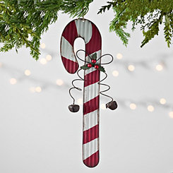 Iron Candy Cane Christmas Ornament