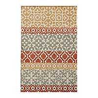 Multicolor Savannah Scatter Rug