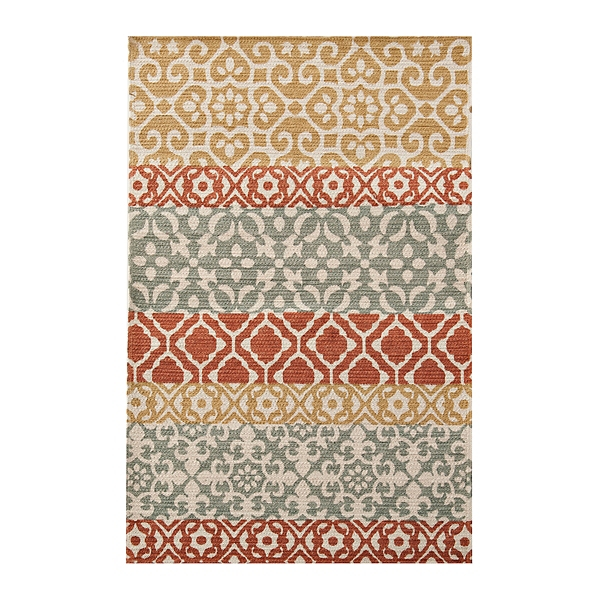 Superb Multicolor Savannah Scatter Rug