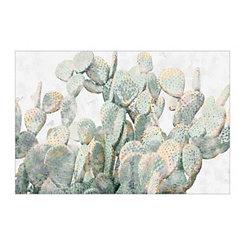 Cactus Impressions Canvas Art Print