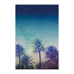 Palm Paradise Canvas Art Print