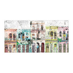Havana Lights Canvas Art Print