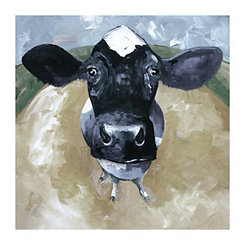 A Cow Tale Canvas Art Print