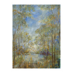 Forest Creek Canvas Art Print