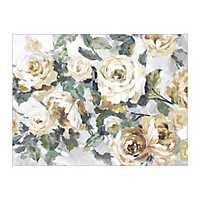 Golden Roses Canvas Art Print