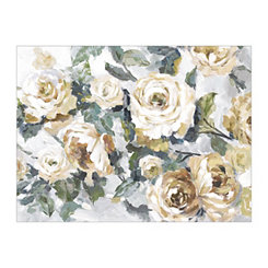Golden Roses Canvas Art Print