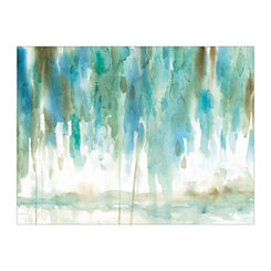 Rainwashed Landscape Canvas Art Print