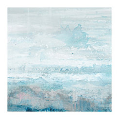 Jagged Coast Canvas Art Print