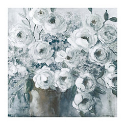 Collective Gray Canvas Art Print