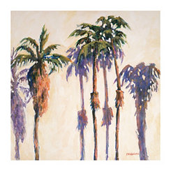 L.A. Palms Canvas Art Print