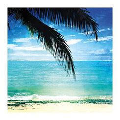 Rarotonga Palm Canvas Art Print