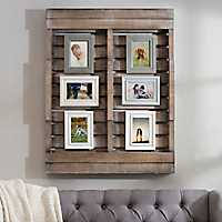 Harper Wood Pallet Collage Frame
